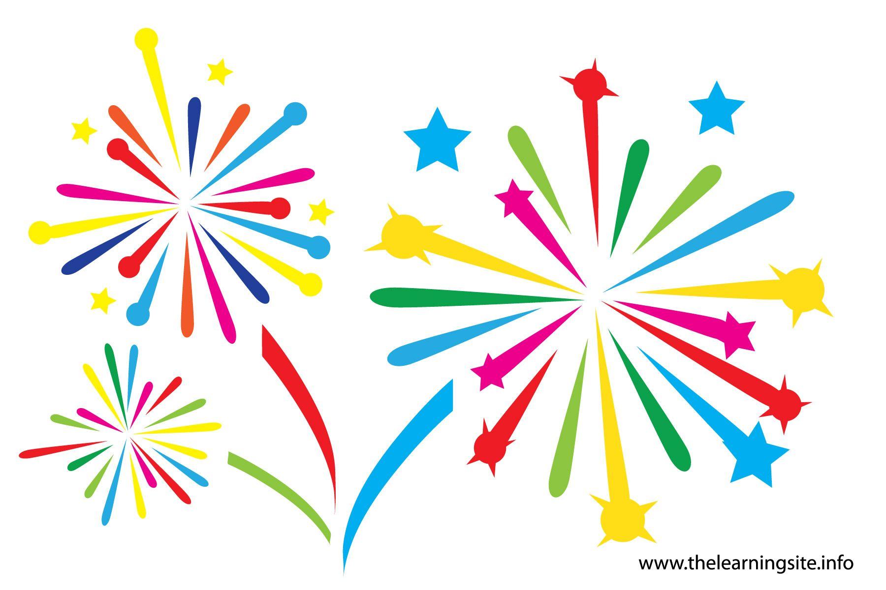 Fireworks clip art animations. Celebrate clipart firecracker