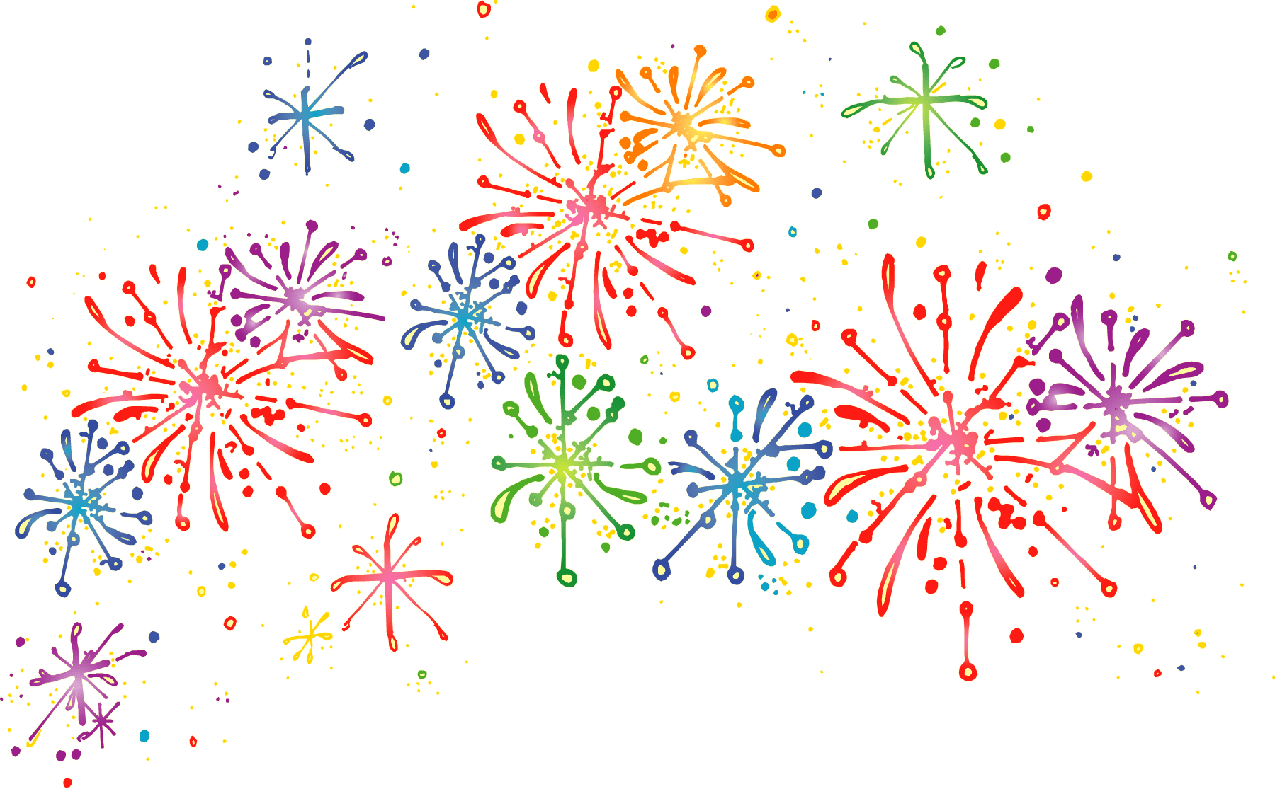 collection of celebrate. Fireworks png images