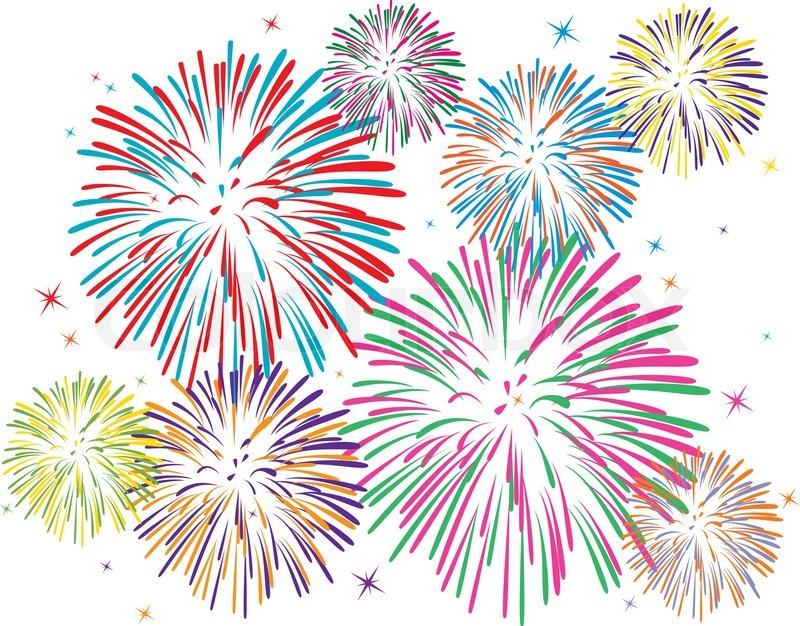 Yamboree annual july th. Celebrate clipart firework