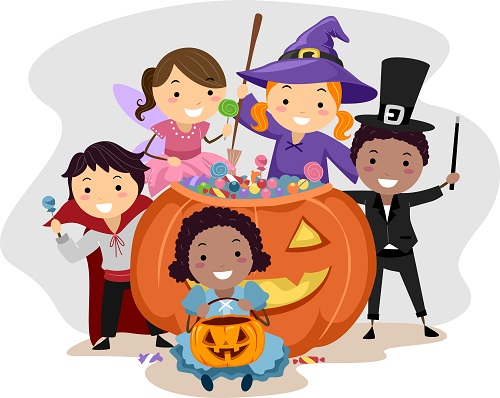 At storytime with us. Celebrate clipart halloween