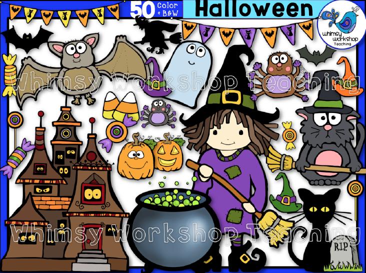 Celebrate clipart halloween. Clip art pack kids