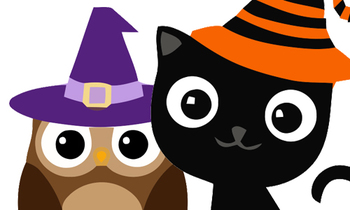 Clipart halloween cute. Stewart community party itcn