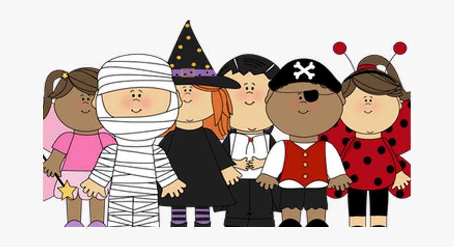 Kids transparent clip art. Celebrate clipart halloween