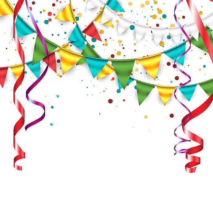 Clip art free celebration. Celebrate clipart line