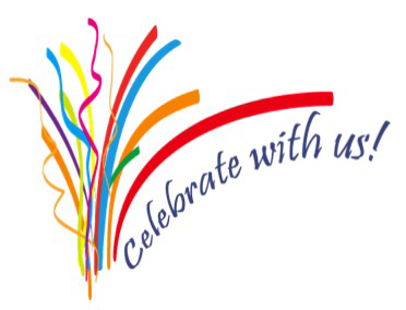Celebrate With Us Clipart