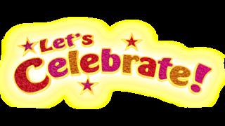 Celebrate clipart logo. Let s cbeebies bbc