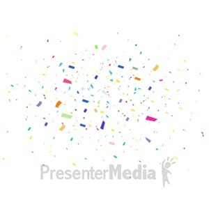 Pure celebration a powerpoint. Celebrate clipart motion