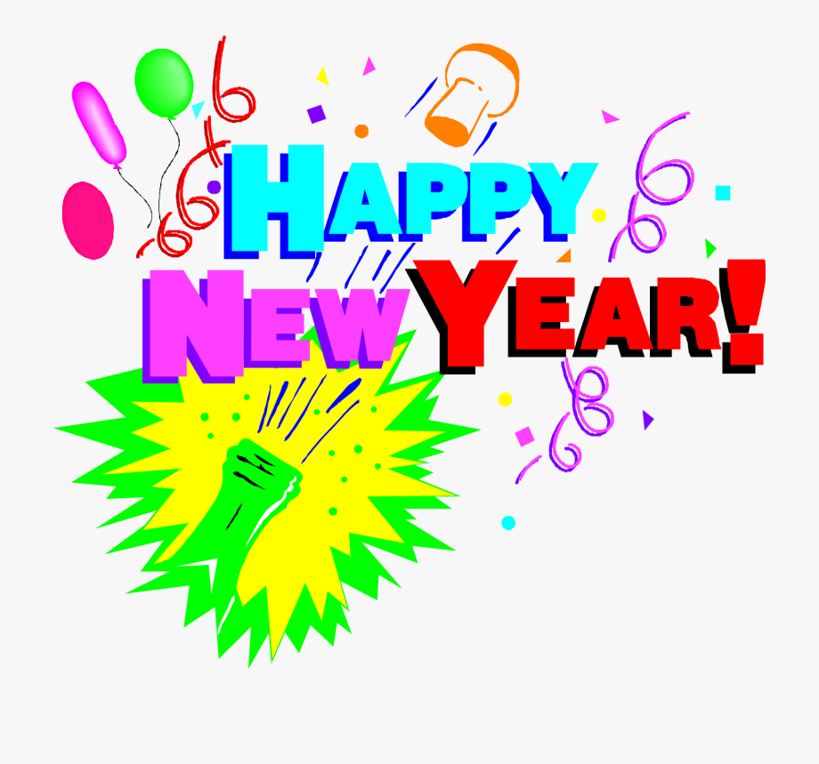 Years party clip art. Celebrate clipart new year