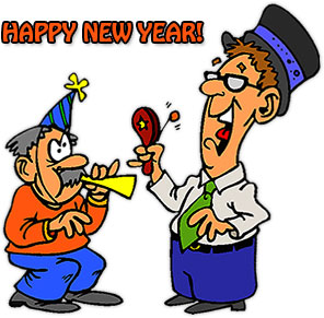 Celebrate clipart new year. Free graphics