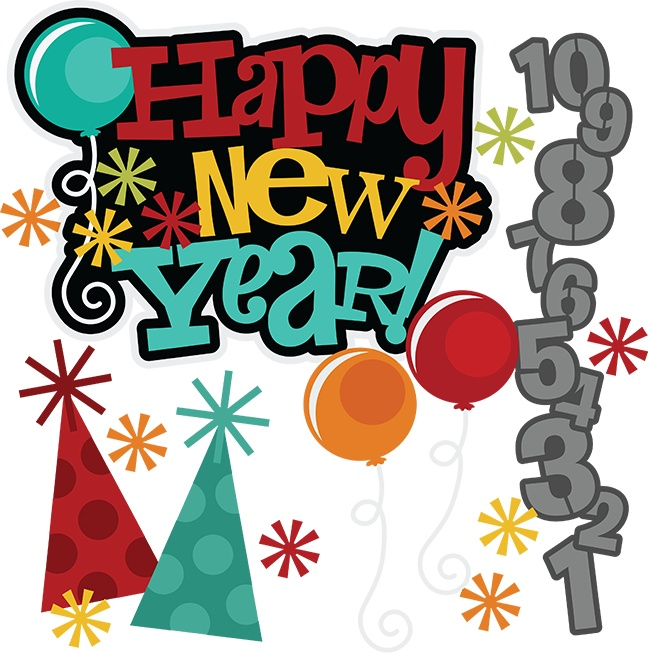 Year celebration . Celebrate clipart new years day