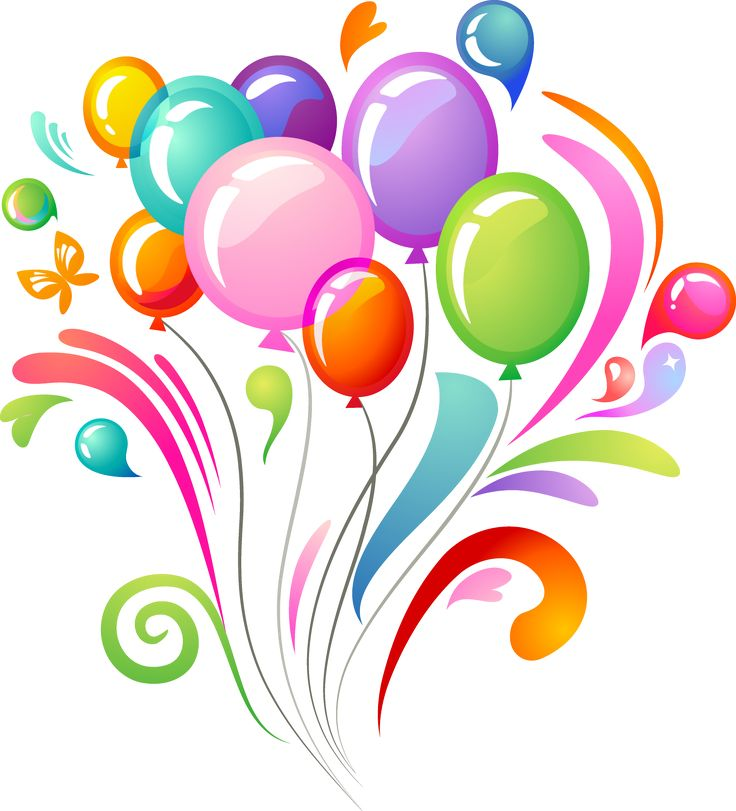 Celebrate clipart part.  best ballon images