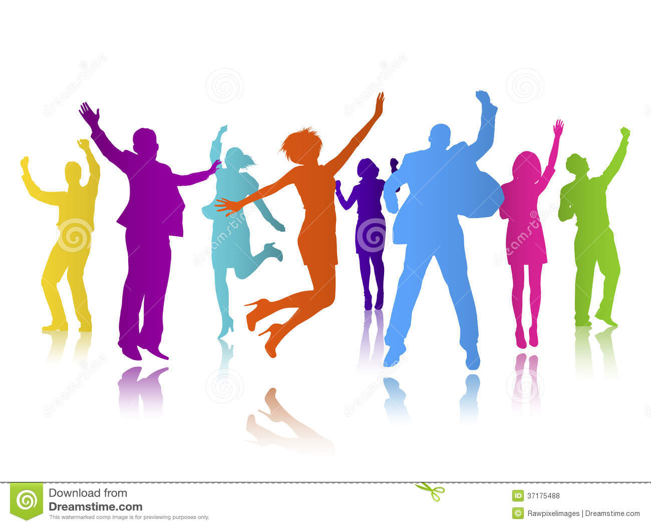 People celebrating free download. Celebrate clipart person
