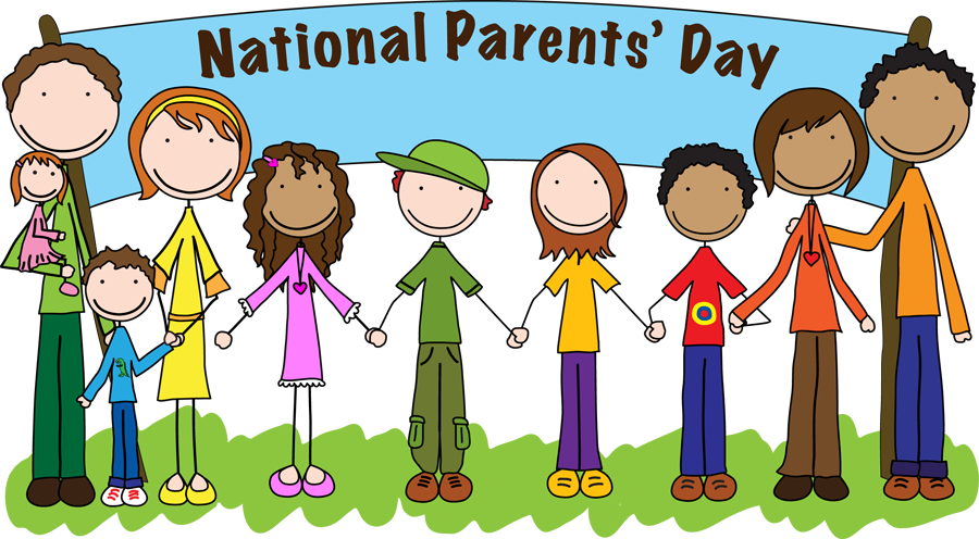 Celebrate parents day july. Tired clipart father