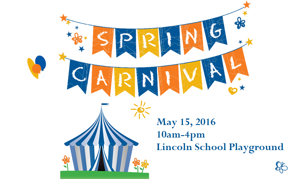 Carnival volunteers needed lincoln. Celebrate clipart spring
