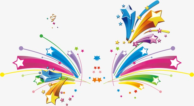 Celebrate clipart star. Stars creative material png
