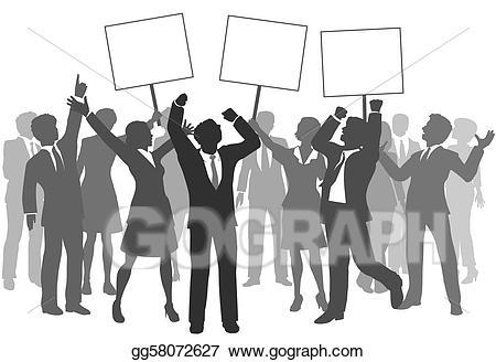 Celebrate clipart team. Eps illustration business people