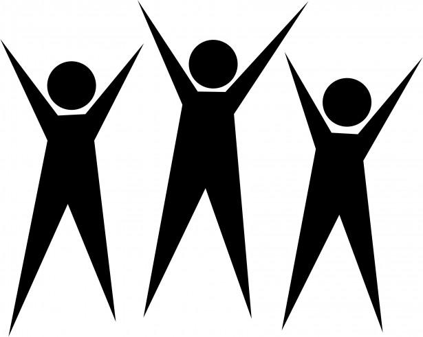 Icon men free stock. Celebrate clipart team