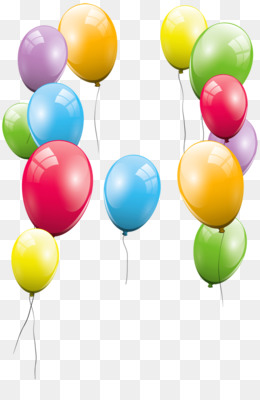 Balloon birthday clip art. Celebrate clipart transparent background