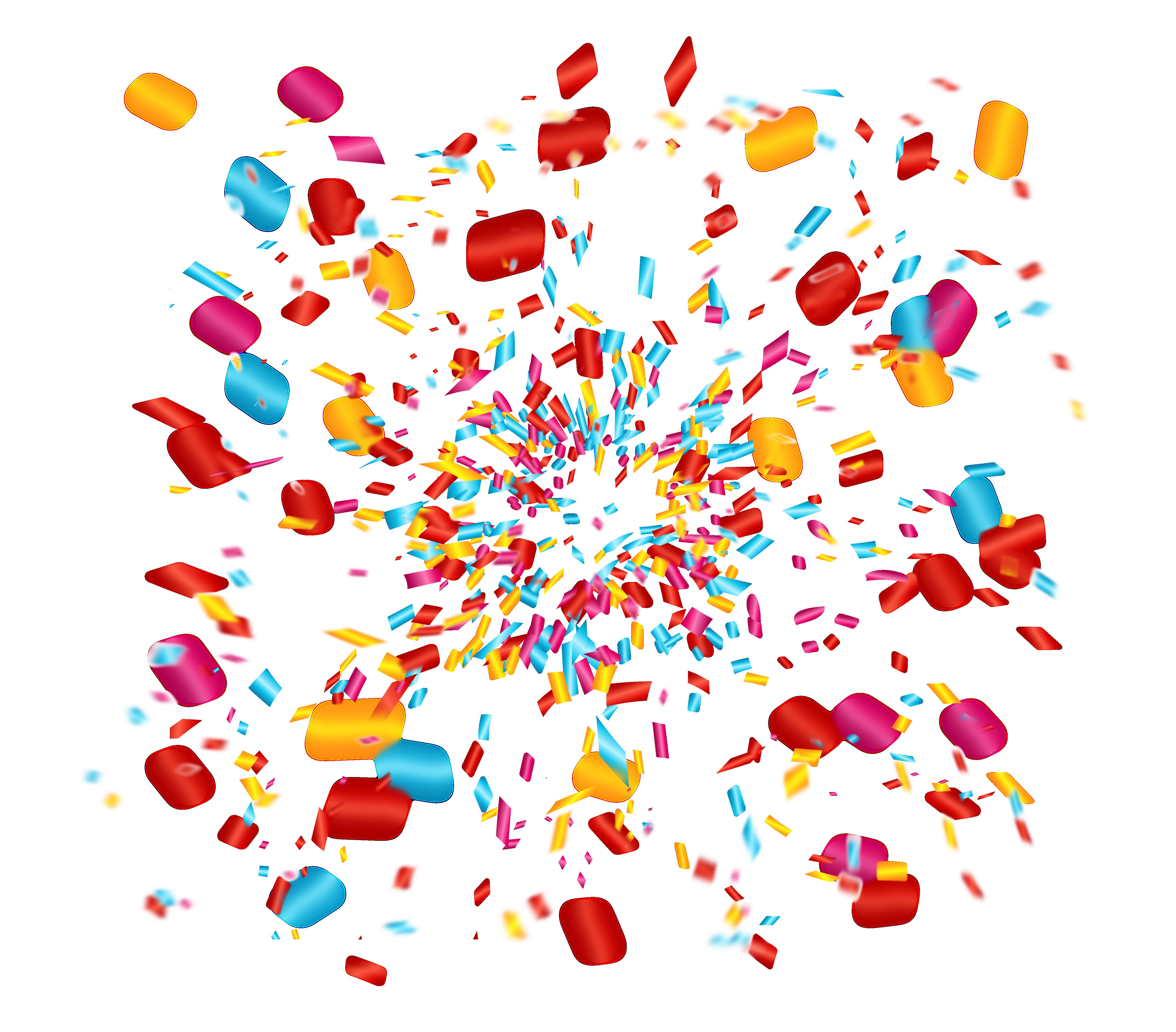 Party clip art celebrate. Clipart fireworks confetti