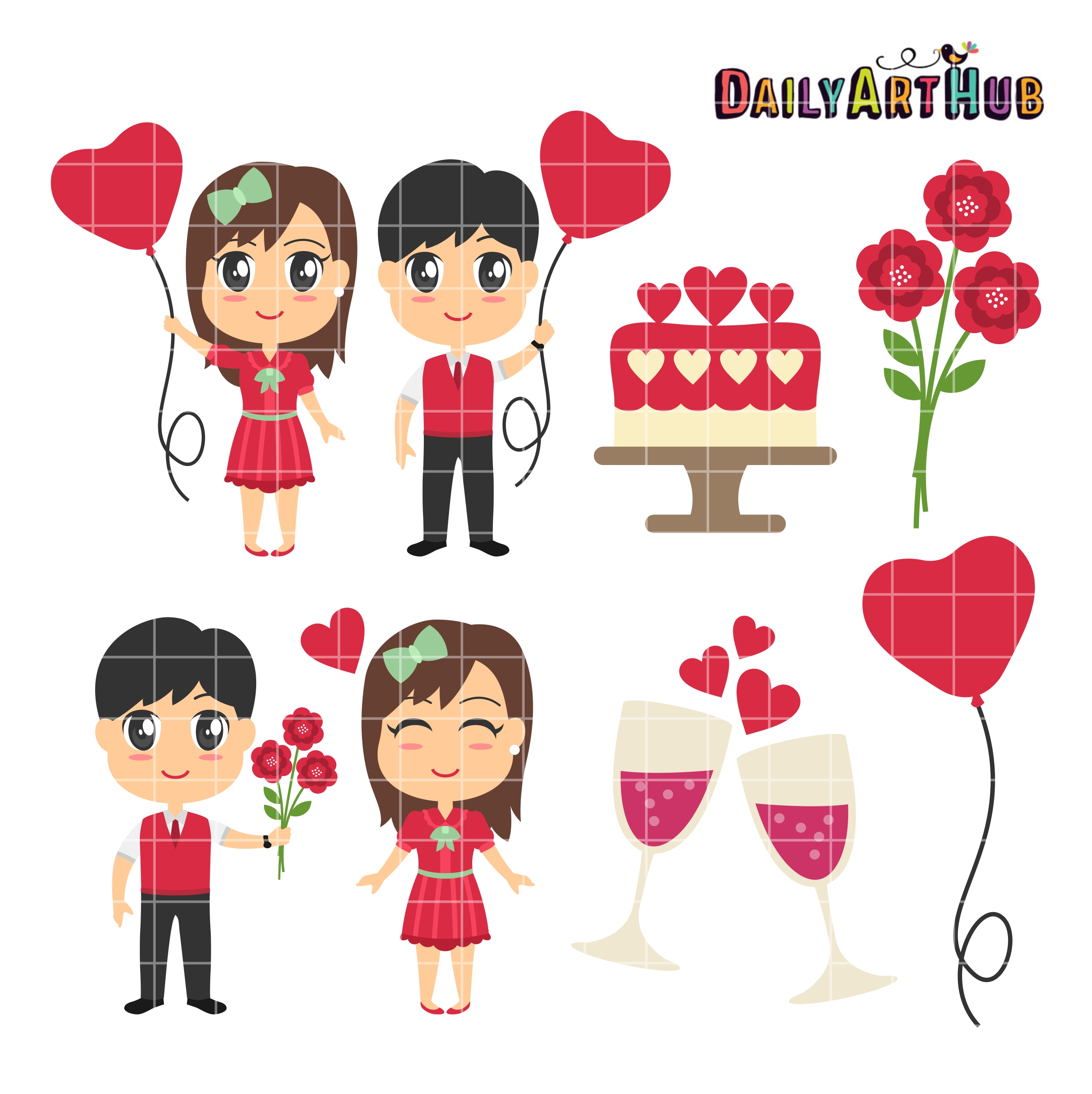 Day couples clip art. Celebrate clipart valentines