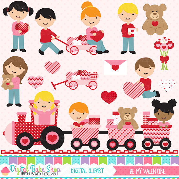 Celebrate clipart valentines. Be my valentine adorable