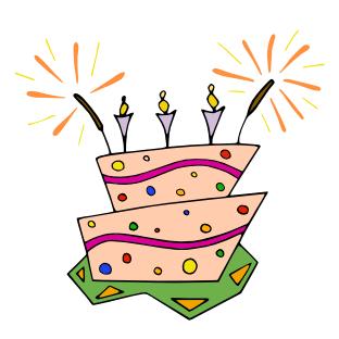 Celebration clip art vectors. Celebrate clipart vector