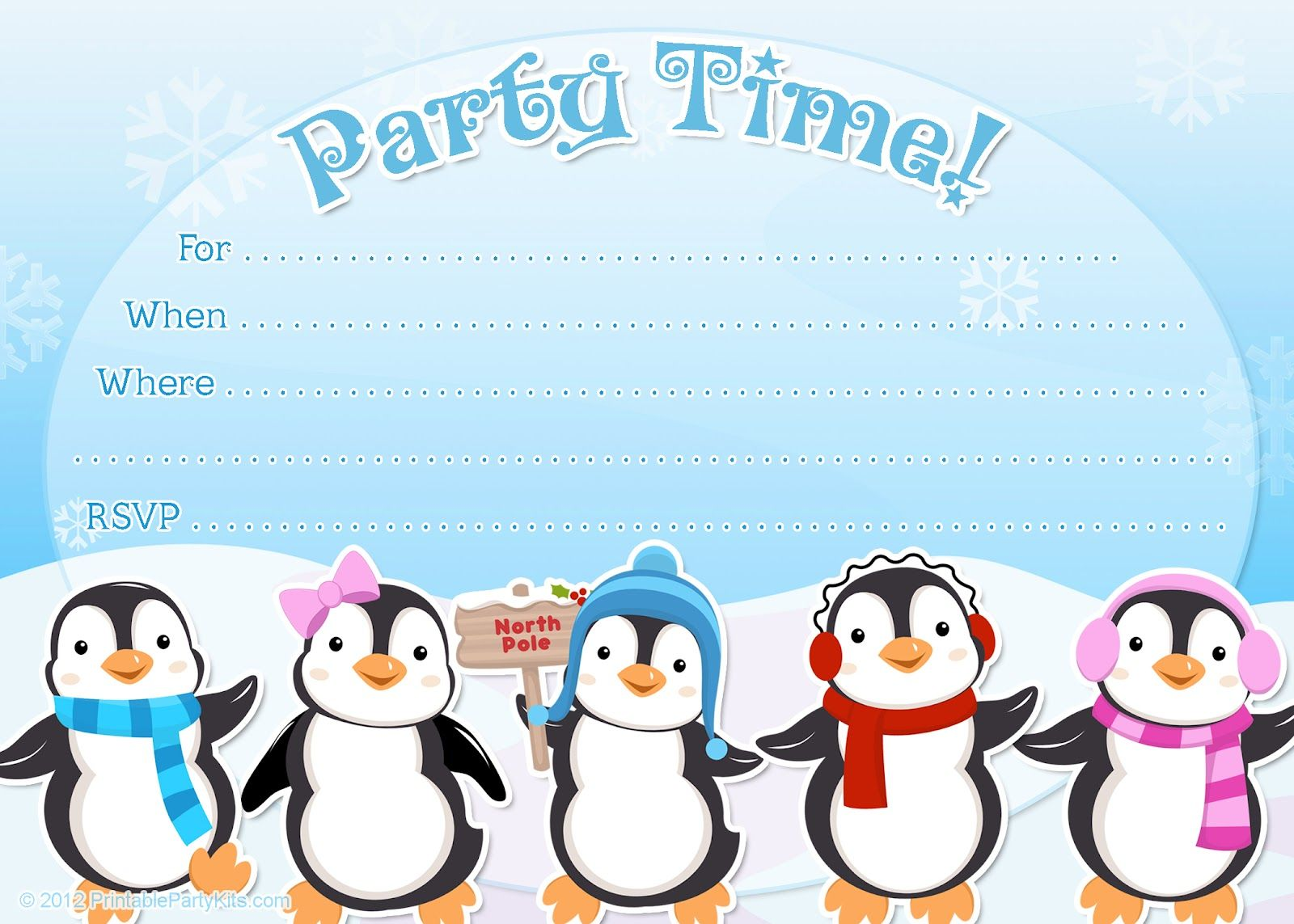 Celebrate clipart winter. Free printable penguin or