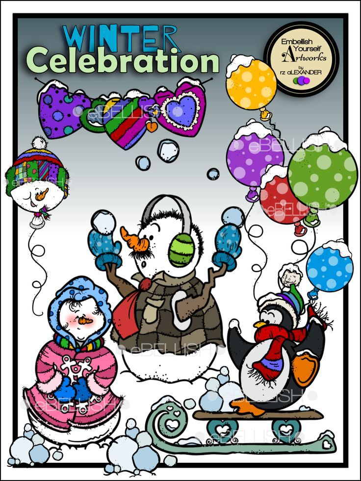 Celebrate clipart winter. Celebration worksheets