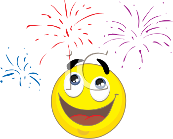 Face . Celebrate clipart yellow