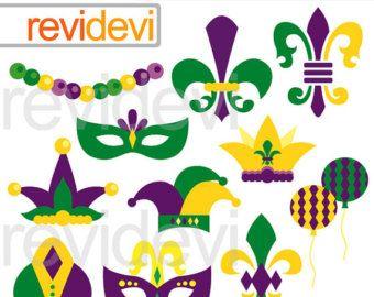 Celebrate clipart yellow. Mardi gras clip art