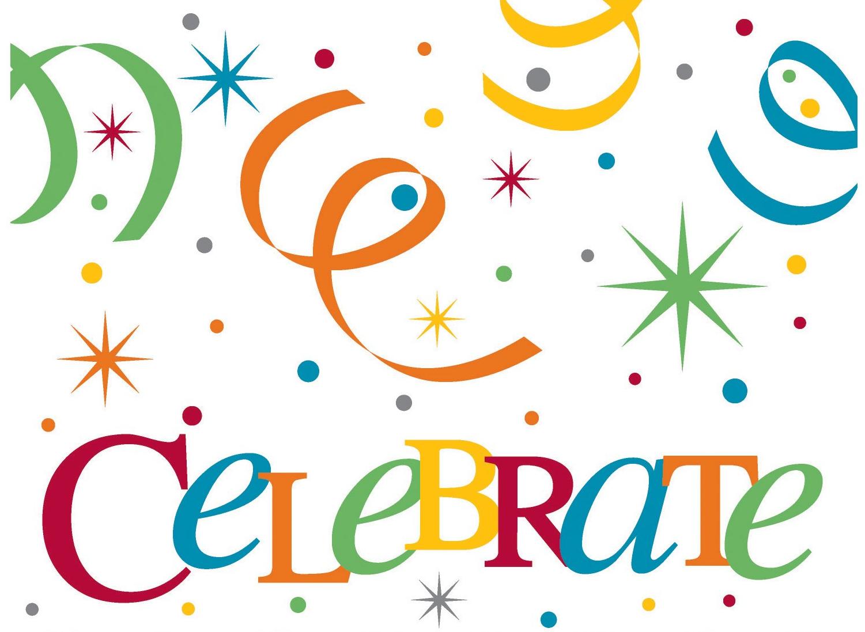 Celebrate clipart. Celebration