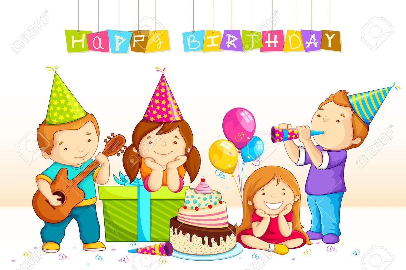 Birthday station . Celebration clipart