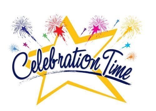 Celebrate clipart logo. Celebration clip art free
