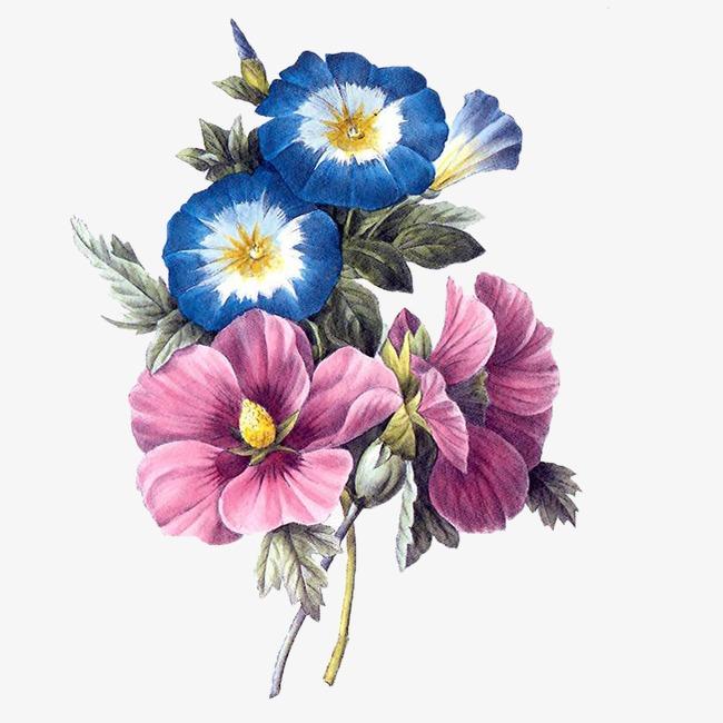 Flowers creative flower cartoon. Celebration clipart abstract