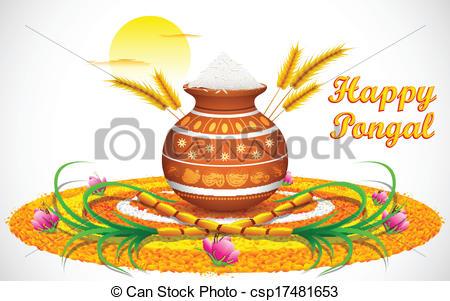 Celebration clipart artwork. Pongal station