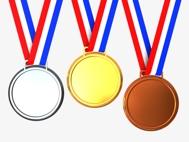 Medals photography events element. Celebration clipart award