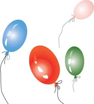 Free and vector graphics. Celebration clipart balloon