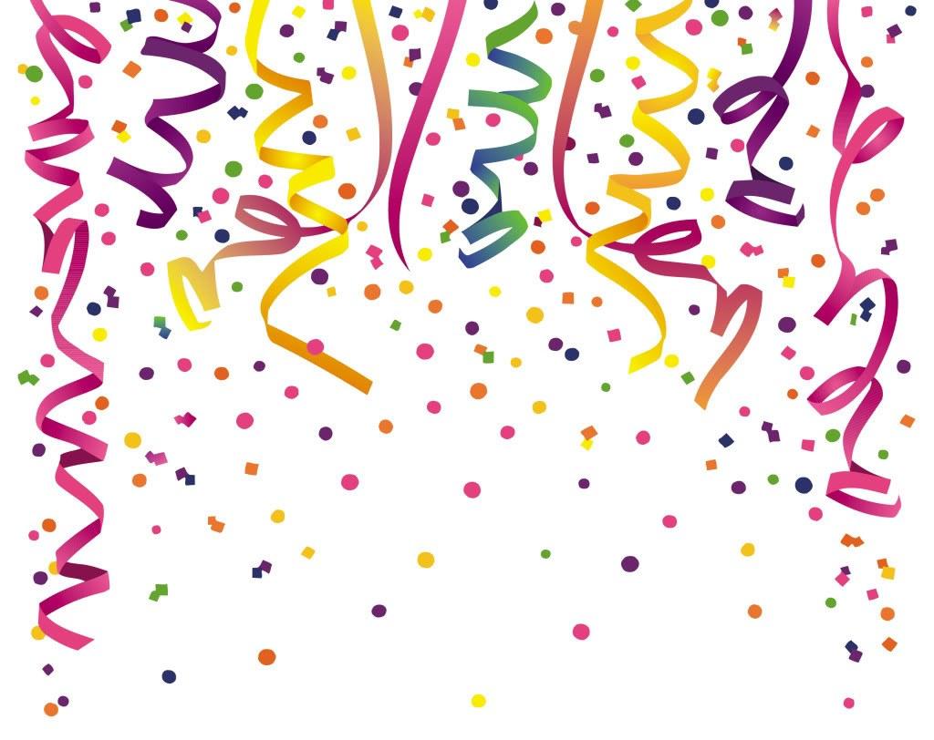 Birthday party clip art. Celebration clipart banner