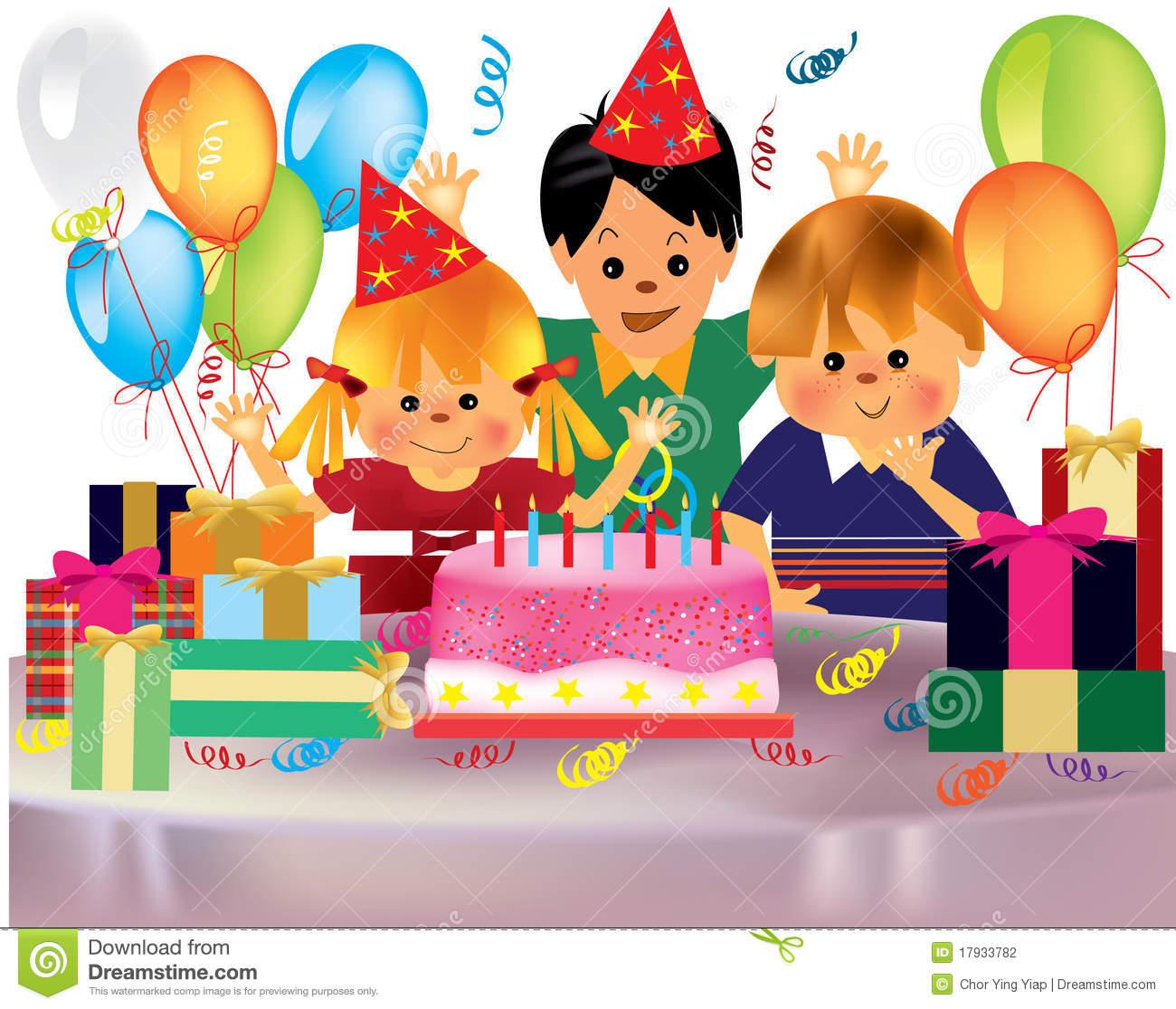 Celebration clipart birthday celebration. Party scene