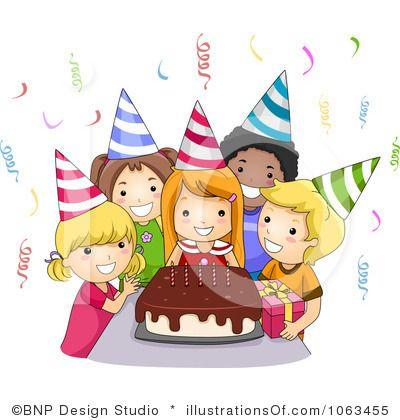 Celebration clipart cartoon. Best of birthday party