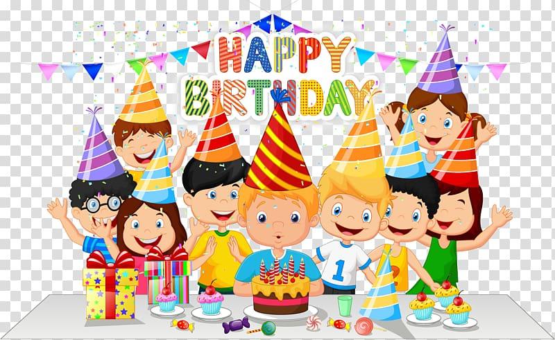 Celebration clipart cartoon. Birthday cake party happy