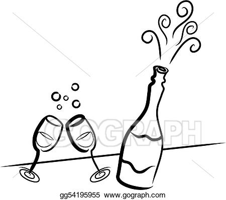Champagne clip art royalty. Champaign clipart celabration