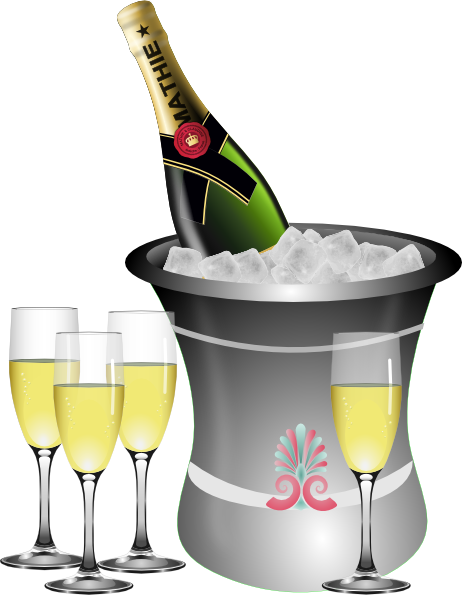 New year s eve. Celebration clipart champagne