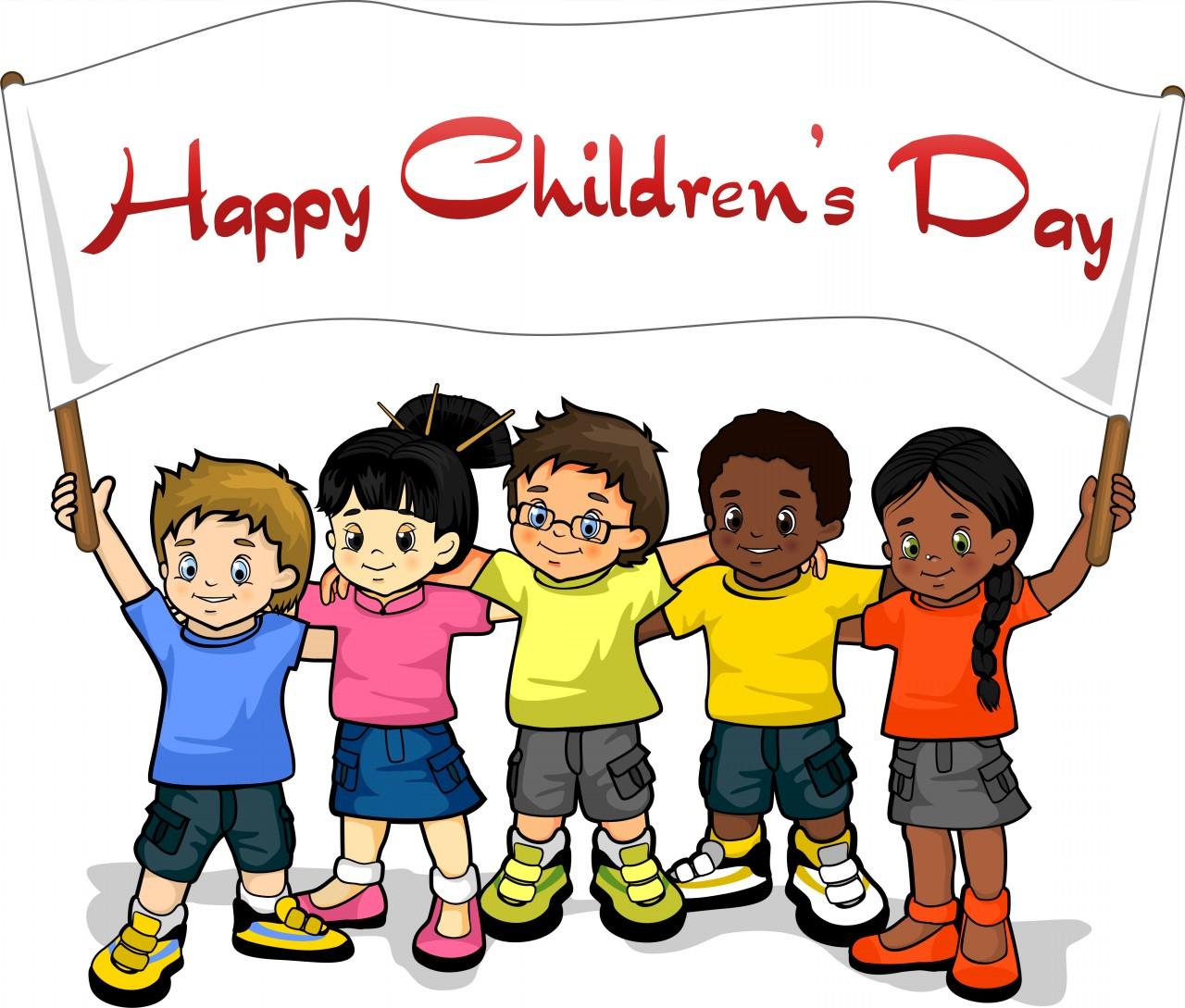 . Celebration clipart children day