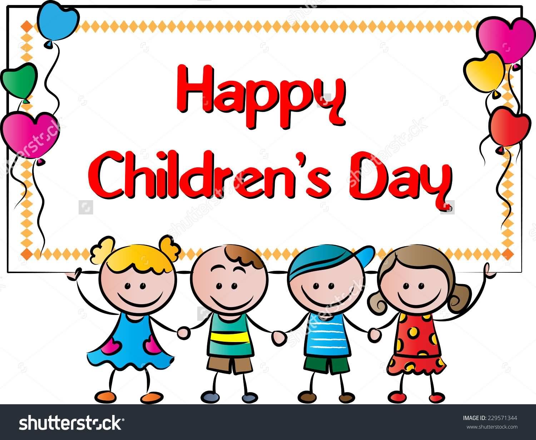 Celebration clipart children day.  very beautiful s