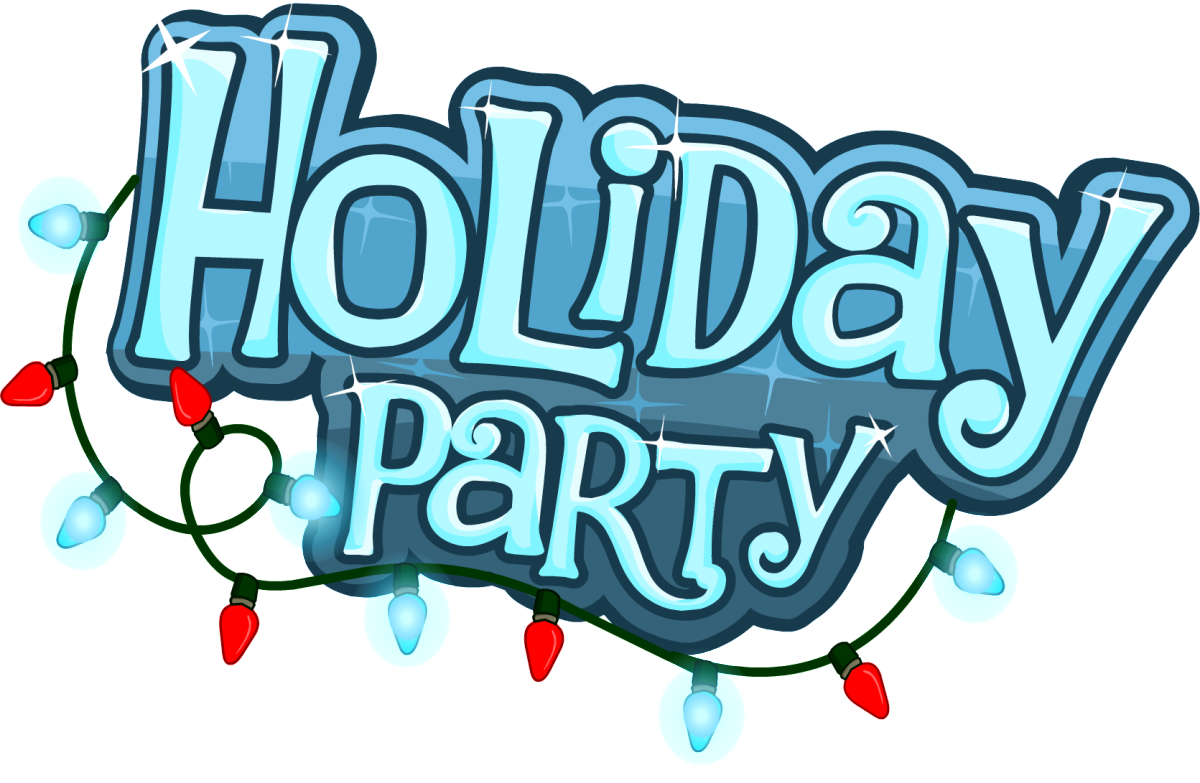 Holiday party incep imagine. Holidays clipart sign