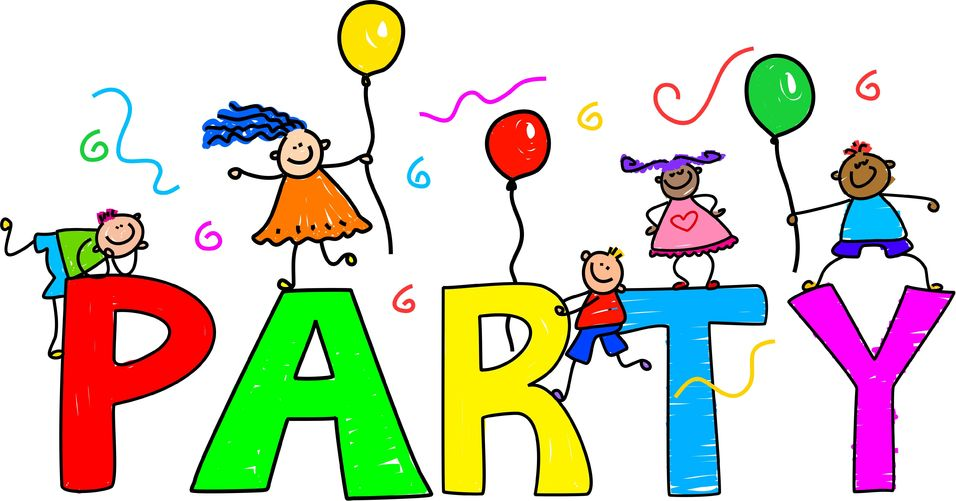 Party clipart class party. Free classroom cliparts download