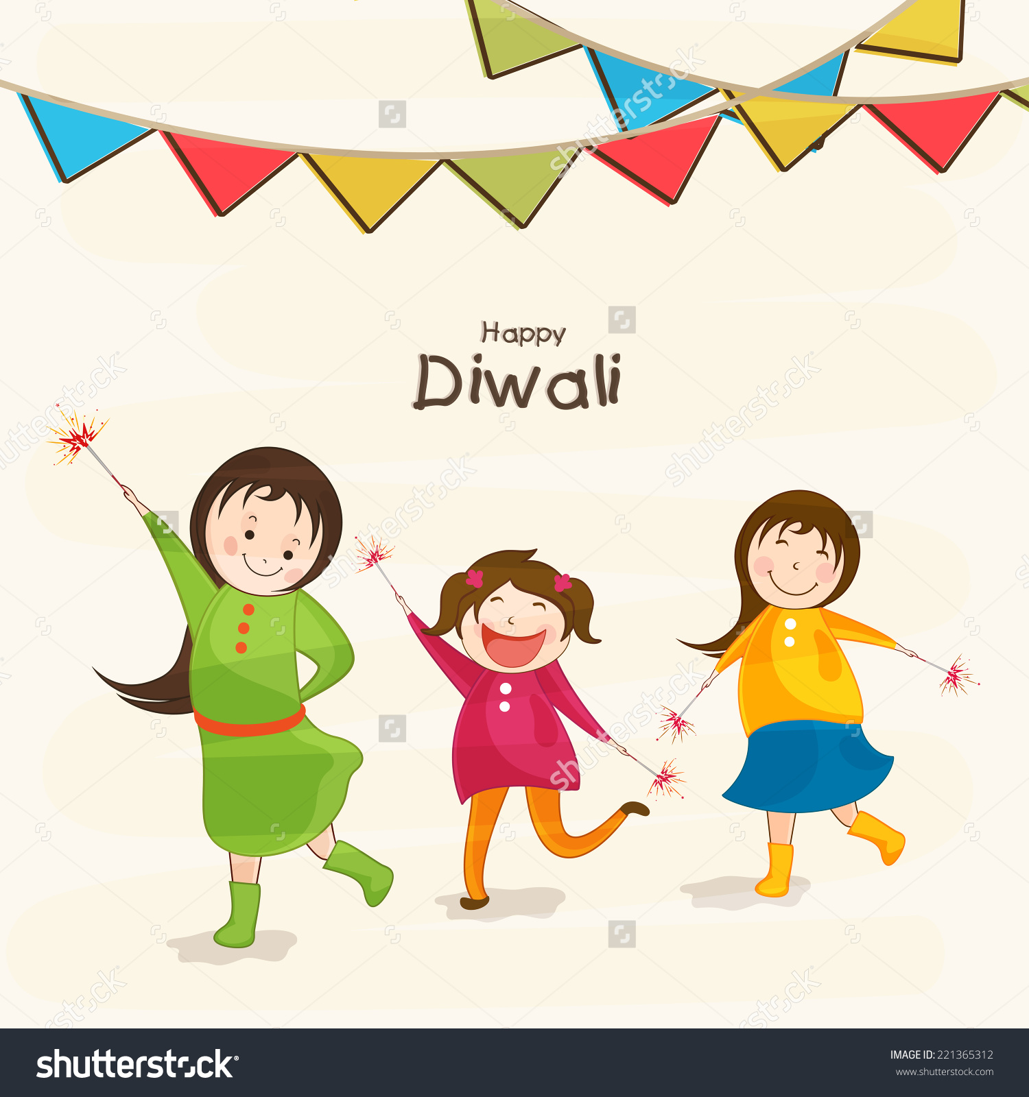 Celebration clipart cute. Diwali kids station