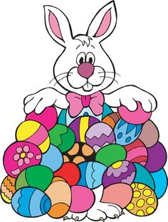 Celebration clipart easter. Colorful egg cartoon images