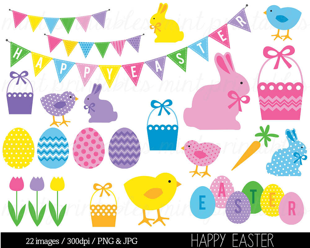 Clip art happy bunny. Celebration clipart easter
